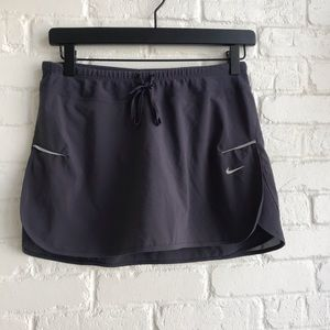 Nike Dri Fit Athletic Skirt Skort Gray Small